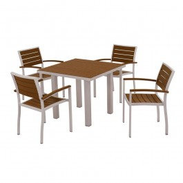 POLYWOOD® Euro 5-Piece Dining Set