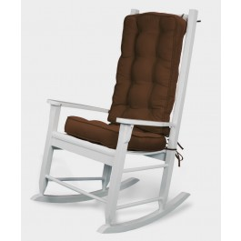 Boxed Piping Sunbrella Rocker Cushion Set