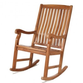 Java Teak Rocking Chair