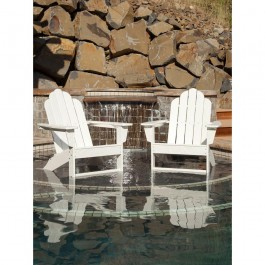 POLYWOOD® Long Island Adirondack 2-Chair Set