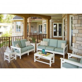 POLYWOOD® Club 5-Piece Deep Seating Group