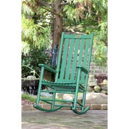 Dixie Seating Company's Cottage Rocker - Woodleaf Green