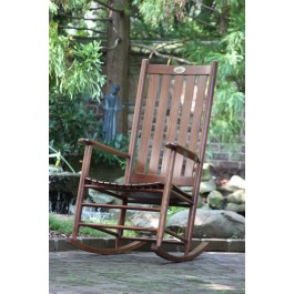 Dixie Seating Company's Cottage Rocker - Woodleaf Hickory