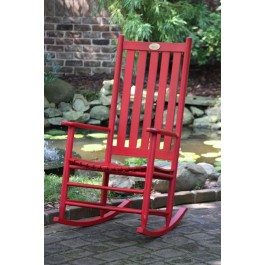 Dixie Seating Company's Cottage Rocker - Woodleaf Red
