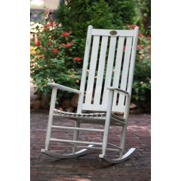 Dixie Seating Company Cottage Rocker - Woodleaf White
