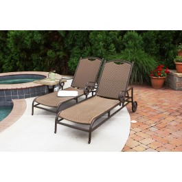 Stonewick Sunlounger Set - Two Included!
