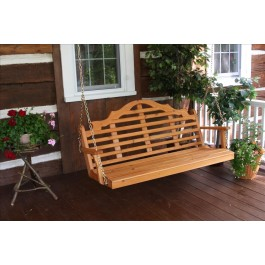 Marlboro Porch Swing - Cedar