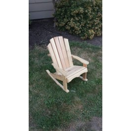 Children's Adirondack Rocking Chair