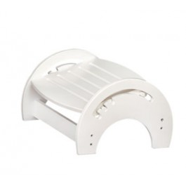 White Nursing Stool