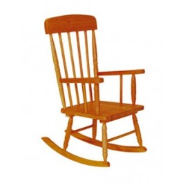 Honey Spindle Kids Rocking Chair - The Rocking Chair Company