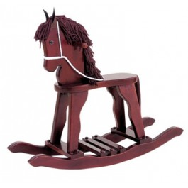 Kids' Derby Rocking Horse - Cherry