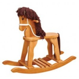 Kids Derby Rocking Horse - Honey