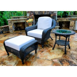 Lexington Chair, Ottoman, & Side Table