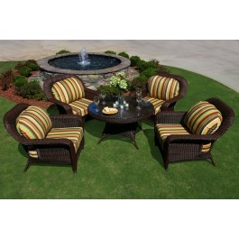 Lexington 5-Piece Conversation Table Set