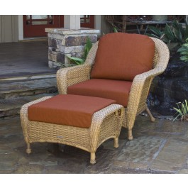 Lexington Chair & Ottoman Bundle