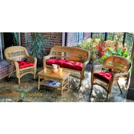 Portside 4 Piece Outdoor Seating Set