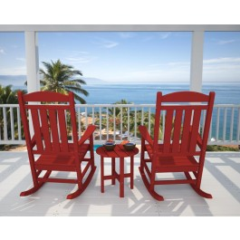 POLYWOOD® Presidential 3-Pc. Rocker Set