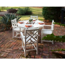 POLYWOOD® Chippendale 5-Piece Dining Set