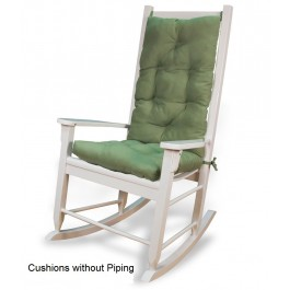 Rocking Chair Cushion Set - Solid Colors