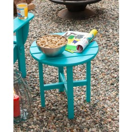 POLYWOOD® Round Side Table