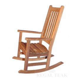 Teak Carolina Rocking Chair