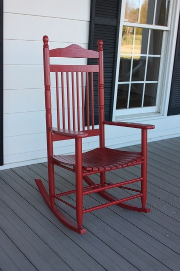 Adult Spindle Backed Wooden Rocking Chair The Rocking
