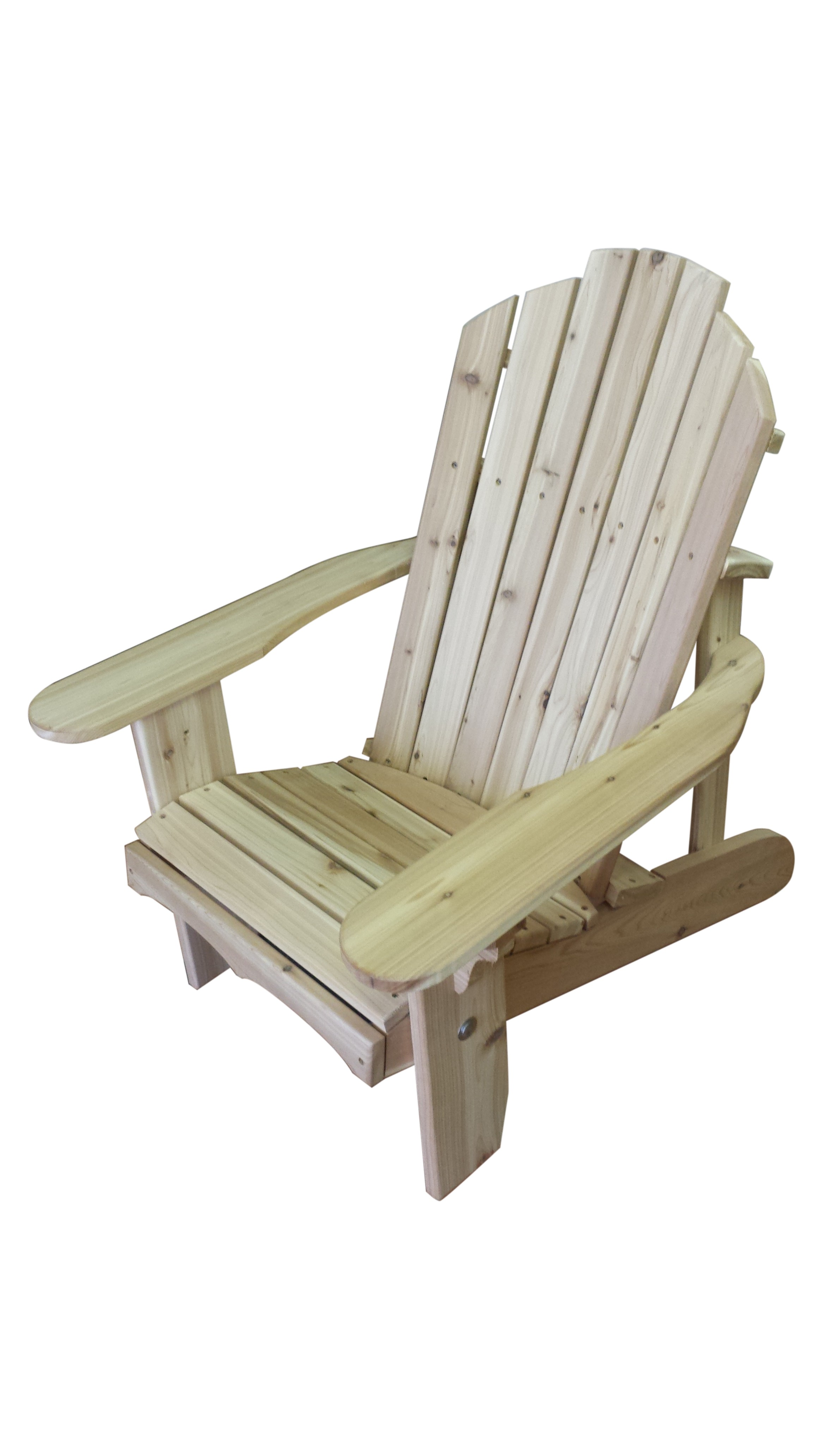 Classic Cedar Adirondack Chair The Rocking Chair Company