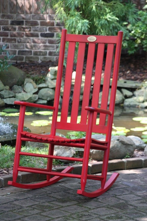 Barn Door Red Bob Timberlake Cottage Rocker The Rocking Chair pany