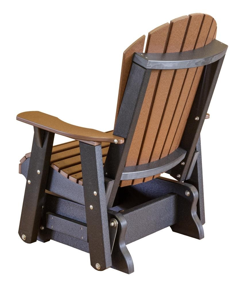 Heritage Single Outdoor Glider The Rocking Chair Company