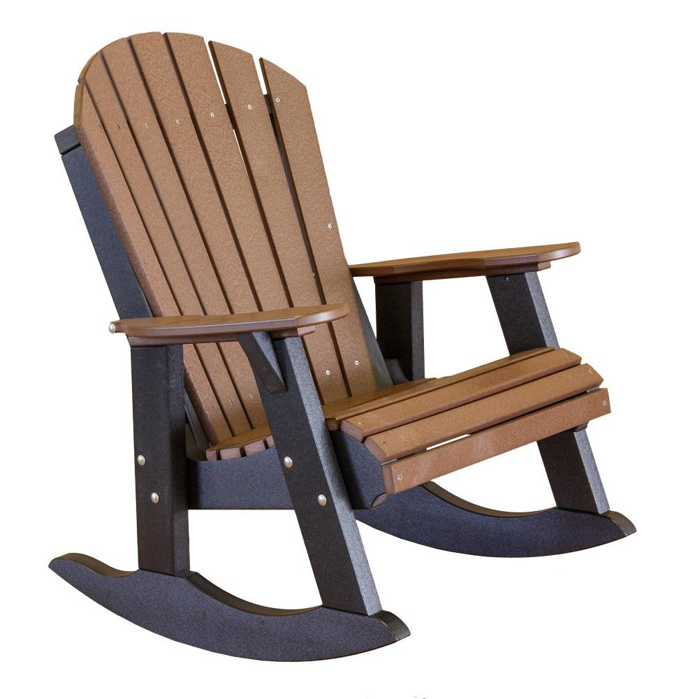 Heritage outdoor fan back rocking chair the rocking chair company - Rocking chair but ...