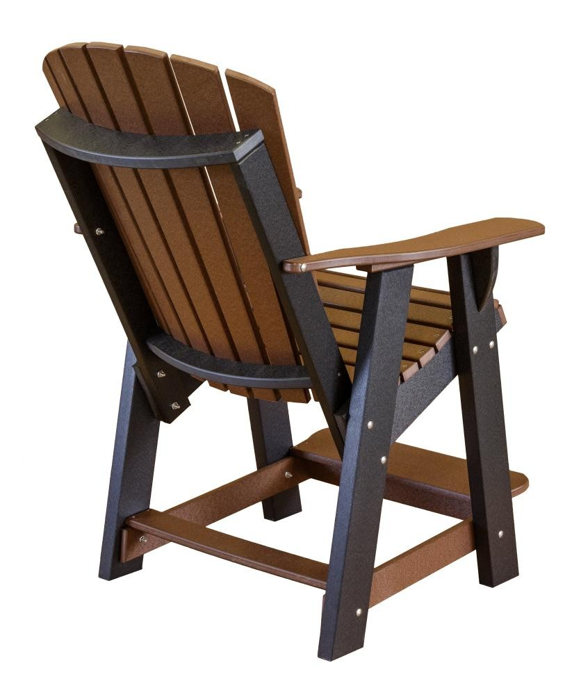 High Adirondack Outdoor Patio Chair The Rocking Chair