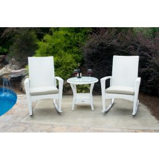 Bayview Outdoor Rocking Chair Set