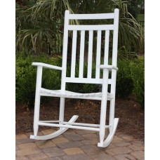 Classic Adult Slat-Back Rocking Chair