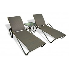Fiji Sunlounger Set - Two Included!
