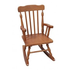 Children's Colonial Rocking Chair - Honey