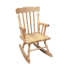 Kid's Colonial Rocking Chair - Natural