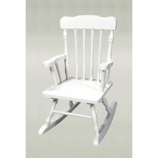 Children's Colonial Rocking Chair - White