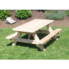 "Kid's Cedar Table (22"" Wide)"