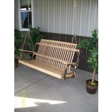 Classic Porch Swing - Hickory