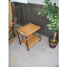 The Wallace End Table - Hickory