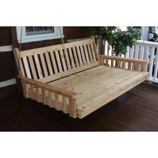 Traditional English Swingbed - Cedar
