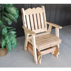 Royal English Glider Chair - Cedar