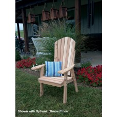 Upright Adirondack Chair - Cedar