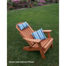 Folding Reclining Adirondack Chair - Cedar