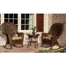 Lexington Wicker Rocking Chair 3-Piece Set