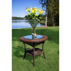 Lexington Wicker Side Table